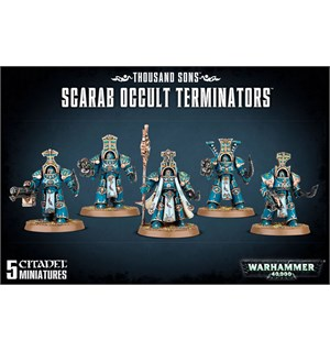 Thousand Sons Scarab Occult Terminators Warhammer 40K