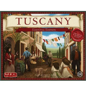 Tuscany Essentials Edition Expansion Utvidelse til Viticulture Essentials Ed