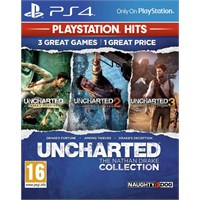 Uncharted Nathan Drake Collection PS4 Uncharted + Uncharted 2 + Uncharted 3