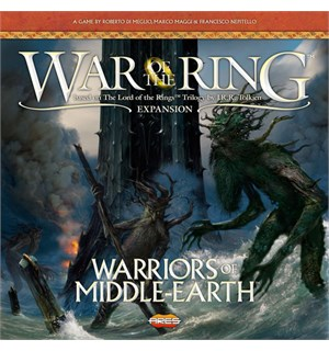 War of the Ring Warriors of Middle Earth Utvidelse til War of the Ring