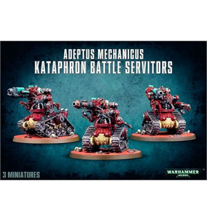 Adeptus Mechanicus Kataphron Servitors Warhammer 40K - Battle Servitors