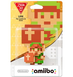 Amiibo Figur Link The Legend of Zelda Zelda 30th Anniversary Edition