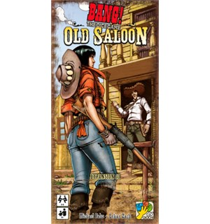 Bang! Dice Game Old Saloon Exp Expansion til Bang Dice Game