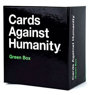 Cards Against Humanity Green Box 300 HELT NYE KORT!