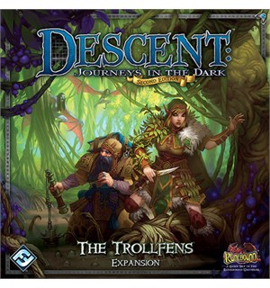 Descent The Trollfens Expansion Tilleggspakke til Descent Brettspill