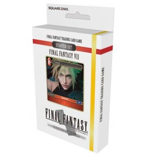 Final Fantasy VII TCG Starter Set Trading Card Game Final Fantasy 7