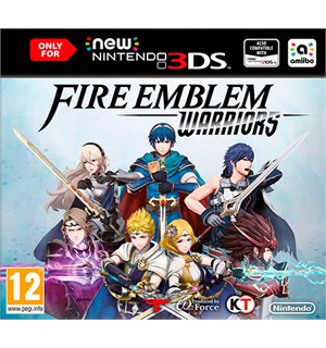 Fire Emblem Warriors 3DS Kun kompatibel med New Nintendo 3DS