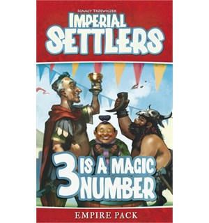 Imperial Settlers 3 is a Magic Number Empire Pack Utvidelse Imperial Settlers