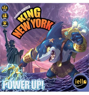 King of New York Power Up Expansion Utvidelse til King of New York