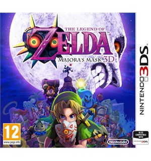 Legend of Zelda Majoras Mask 3DS