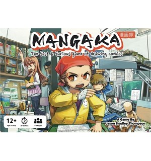 Mangaka Brettspill The Fast & Furious Game of Drawing Comic