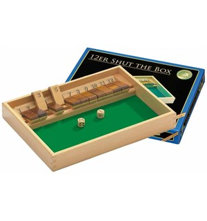 Shut the Box 12 er Regnespill