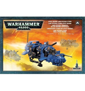 Space Marine Land Speeder Storm Warhammer 40K