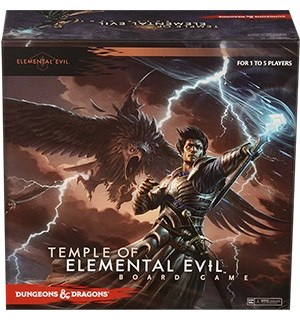 Temple of Elemental Evil Brettspill Et Dungeons & Dragons Brettspill