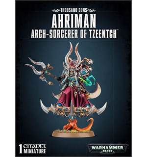 Thousand Sons Ahriman Arch-Sorcerer of Tzeentch Warhammer 40K