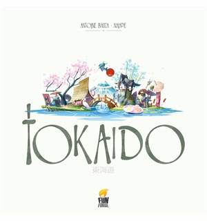 Tokaido Brettspill - Norsk Utgave 5th Edition