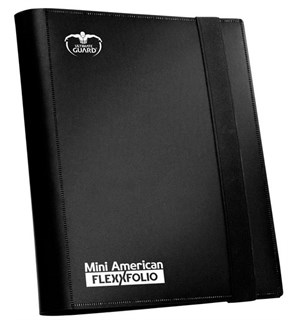 Album Mini American Ultimate Guard Svart FlexXfolio 9 Pocket