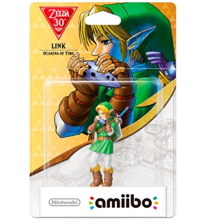 Amiibo Figur Link Ocarina of Time Zelda 30th Anniversary Edition
