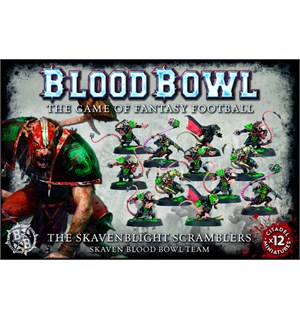 Blood Bowl Team Skavenblight Scramblers Skaven Blood Bowl Team