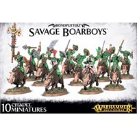 Bonesplitterz Savage Boarboys Warhammer Age of Sigmar