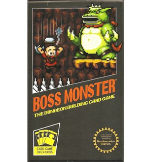 Boss Monster Dungeon Building Card Game Brettspill