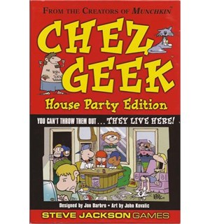 Chez Geek House Party Edition Kortspill