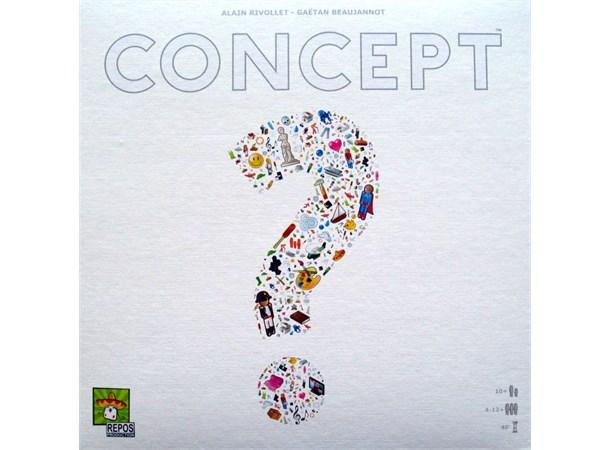 673c25fd Concept Brettspill - Norsk utgave Gjett ord ved å assosiere med ikoner! -  Gamezone.no