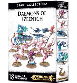 Daemons of Tzeentch Start Collecting Warhammer Age of Sigmar