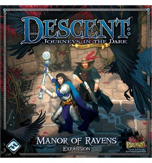 Descent Manor of Ravens Expansion Tilleggspakke til Descent Brettspill