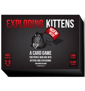 Exploding Kittens NSFW Edition Not Safe For Work Edition