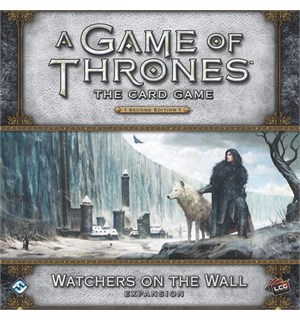 Game of Thrones TCG Watchers on the Wall Utvidelse til Game of Thrones Card Game