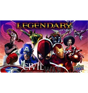 Legendary Marvel Civil War Exp Utvidelse til Legendary Marvel