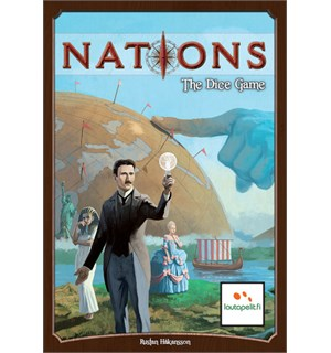 Nations The Dice Game Brettspill