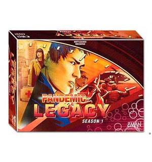 Pandemic Legacy Red Season 1 Brettspill Nominert til Årets Spill