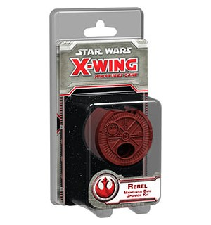Star Wars X-Wing Rebel Maneuver Dial Kit Upgrade Kit Ekstra til miniatyrspillet
