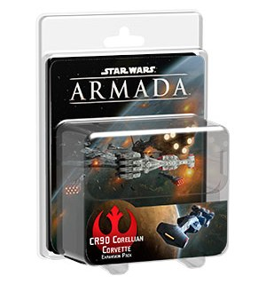 Star Wars Armada CR90 Corellian Exp CR90 Corellian Corvette