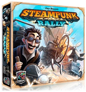 Steampunk Rally Brettspill