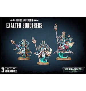 Thousand Sons Exalted Sorcerers Warhammer 40K