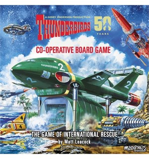 Thunderbirds 50 Years  Brettspill