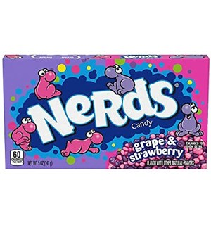 Wonka Nerds Grape & Strawberry - 141g