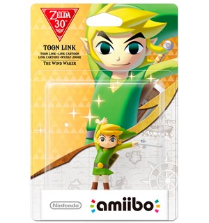 Amiibo Figur Toon Link The Wind Waker Zelda 30th Anniversary Edition