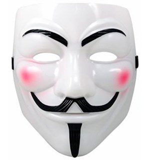 Anonymous / Vendetta / Guy Fawkes Maske