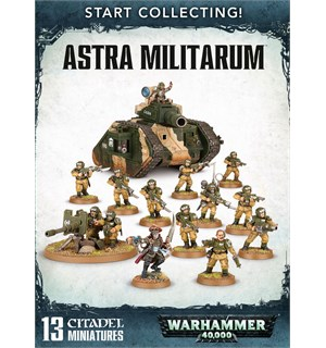 Astra Militarum Start Collecting! Warhammer 40K