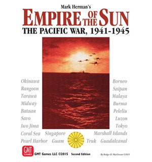Empire of the Sun Brettspill Pacific War 1941-1945