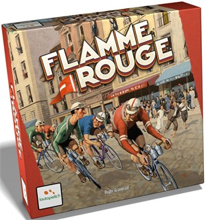 Flamme Rouge Brettspill - Norsk