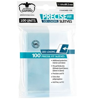 Innersleeves Side-Loading Klar 64x89,5 Ultimate Guard Precise-fit Side-innlegg