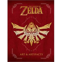 Legend of Zelda Art & Artifacts (Bok) Bind 2 i The Goddess Collection Trilogy