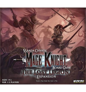 Mage Knight The Lost Legion Expansion Utvidelse til Mage Knight Brettspill