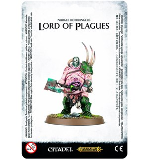 Nurgle Rotbringers Lord of Plagues Warhammer Age of Sigmar