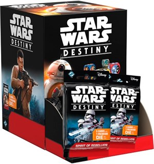 Star Wars Destiny Rebellion Display Spirit of Rebellion - 36 boostere